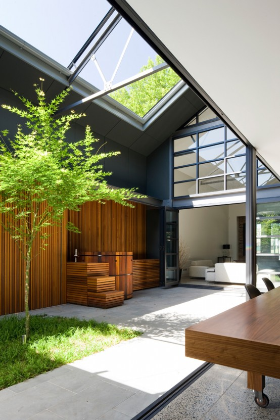 Eye-Catching Modern Home From An Old Warehouse - DigsDi