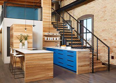 Ingrained Wood Studios | Condominiums | Twin Cities | Millwork .