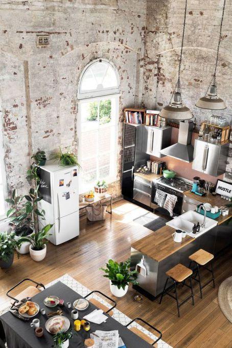 15 Pinterest Kitchens Giving Us Ultimate Kitchen Goals | Loft .