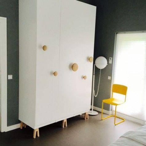 24 IKEA Pax Wardrobe Hacks | ComfyDwelling.com | Ikea storage .