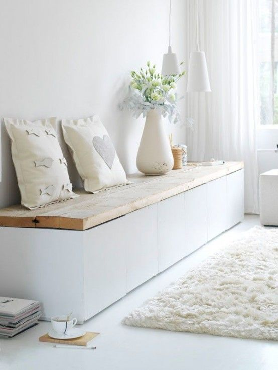 15 Chic And Eye-Catchy Modern Entryway Benches (With images .