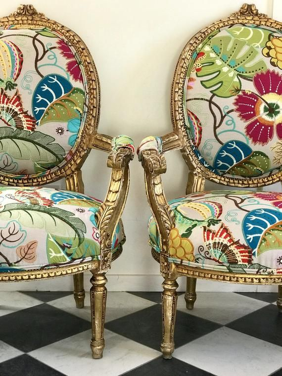Customizable French Chair: Ready for Your Special Fabric   Etsy in .