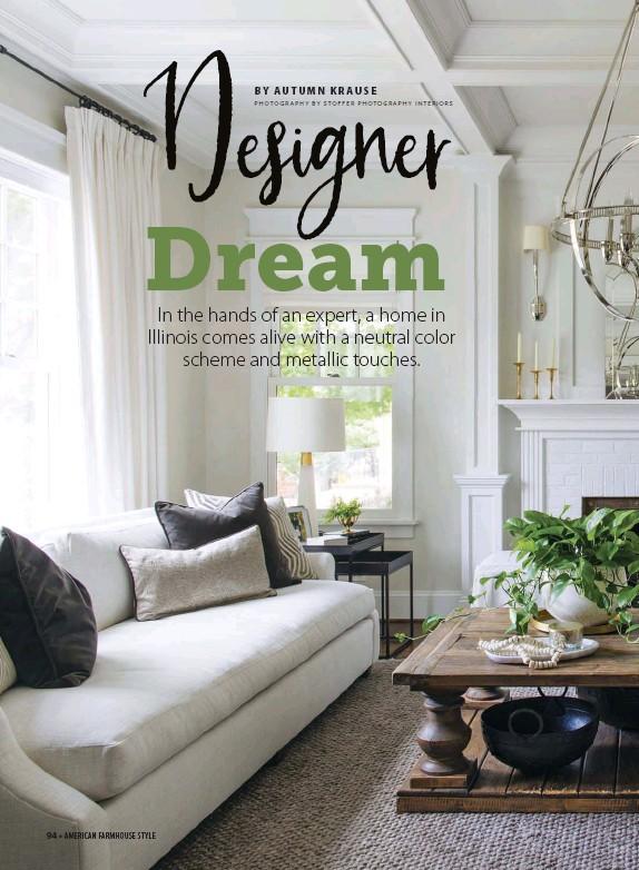PressReader - American Farmhouse Style: 2019-10-01 - Designer Dre