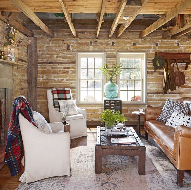 25 Rustic Living Room Ideas - Modern Rustic Living Room Decor and .