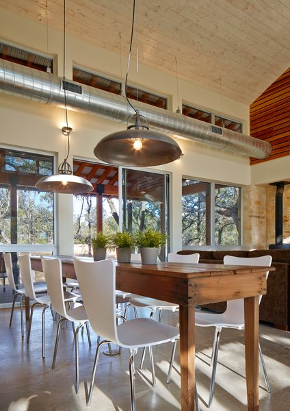 Photo 6 of 6 in A Family Retreat Mixes Rustic Materials with .