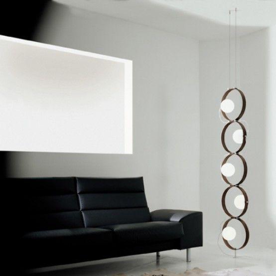 Fashionable Minimalist Lamp Reminding Of A Caterpillar | Lamps .