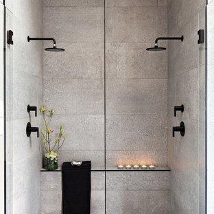 75 Beautiful Concrete Floor Bathroom Pictures & Ideas - September .
