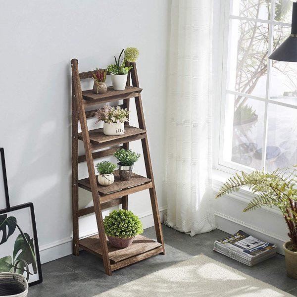 47 Ladder Shelves for Smart Storage and Stylish Displ