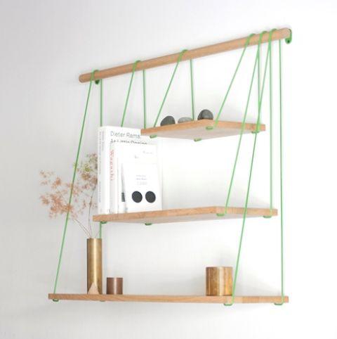 Flexible Bridge Shelves For A Smart Storage   Decoración de unas .