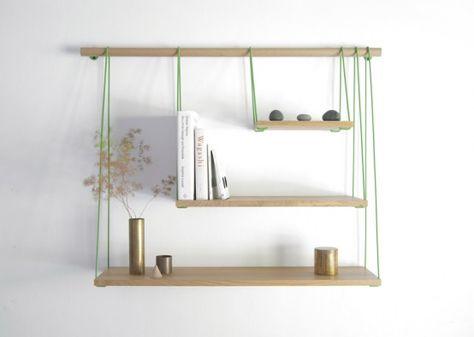 Flexible Bridge Shelves For A Smart Storage   DigsDigs   Diy .