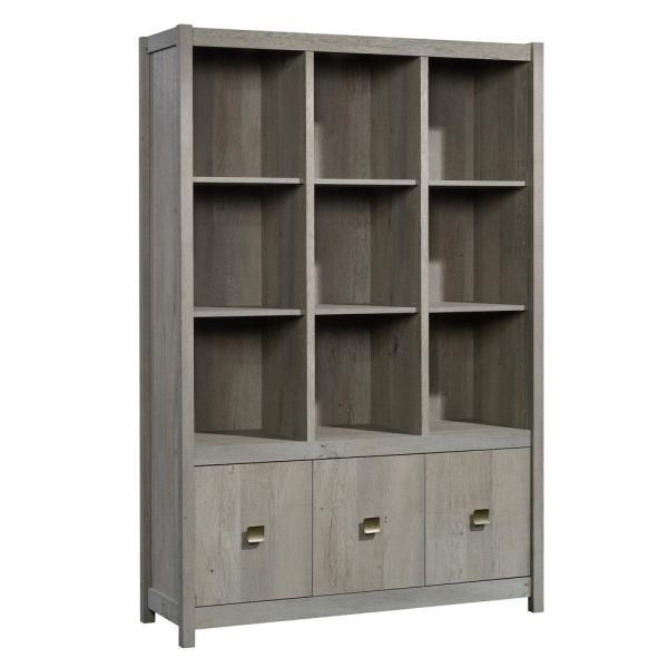 SAUDER Cannery Bridge Mystic Oak Wall Storage Cabinet-422868 - The .