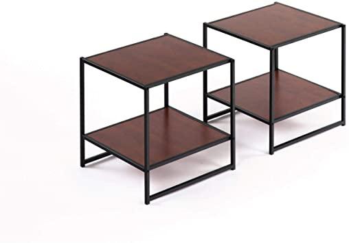 Amazon.com: Zinus Modern Studio Collection Set of Two 20 Inch .