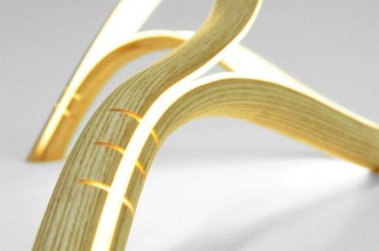 Flexible Minimalist Free Form Lamp - DigsDi