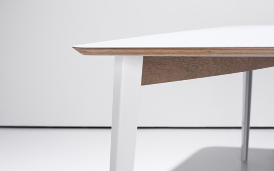 Flexible Modern Desk And Dining Table In One - DigsDi