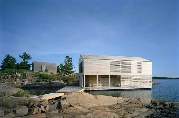 A Floating House on Lake Huron   Floating house, Architecture .