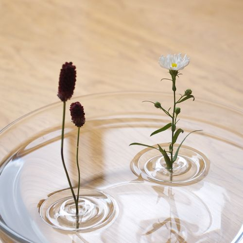 Ripple Floating Vase, made of PET resin. By oodesign.   Floating .