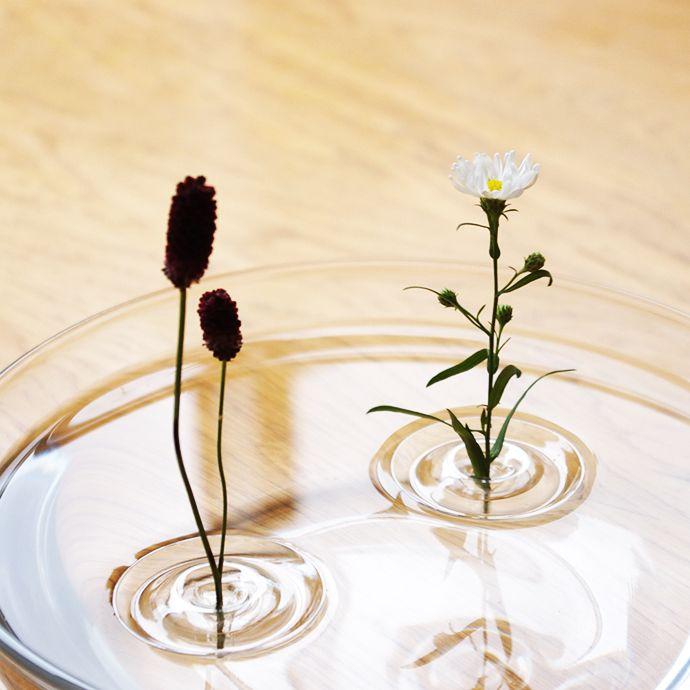 Floating Ripple Vases by oodesign   Floating flowers, Flower vases .