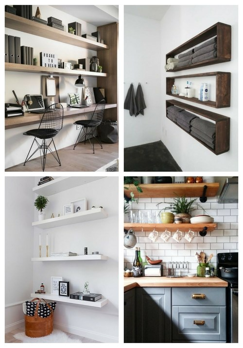 31 Floating Shelves Ideas For Your Home   ComfyDwelling.c
