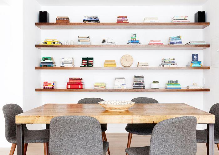 6 Stylish Floating Shelf Ide