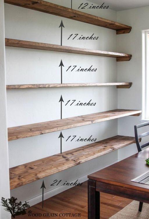 44 Impressive DIY Shelves For Storage & Style - Thrillbites   Diy .