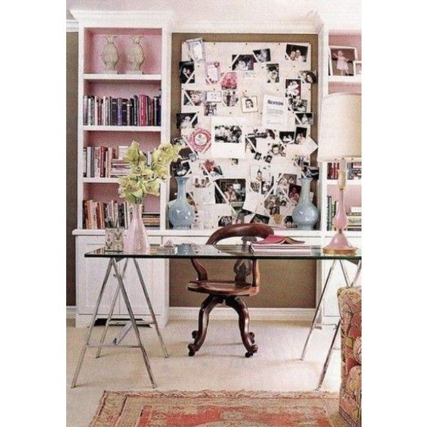 40 Floppy But Refined Boho Chic Home Office Designs | Home office .