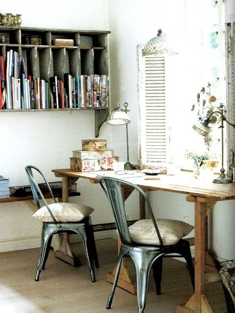 40 Floppy But Refined Boho Chic Home Office Designs | DigsDigs .