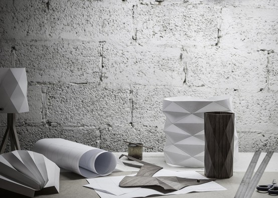Folded Lighting Collection Inspired By Origami Art - DigsDi