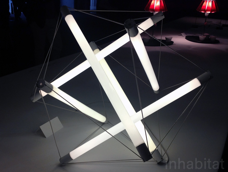 LightStructure: Ingo Maurer's New Geometric LED Lamps Are .