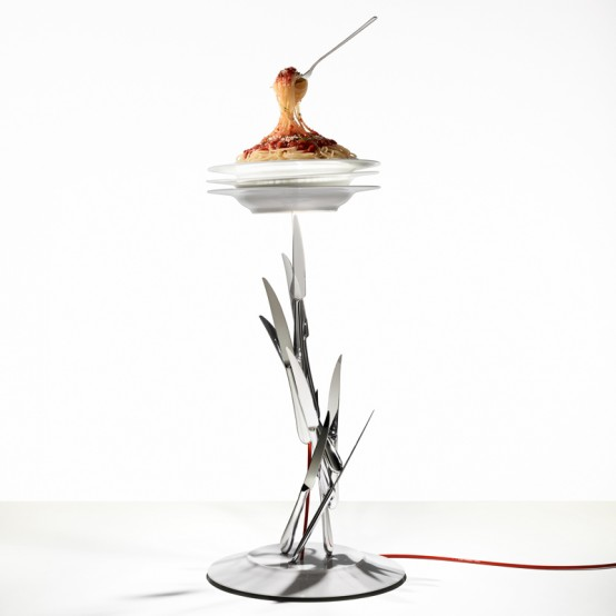 Food And Drinks Inspired Lamp Collection by Ingo Maurer - DigsDi