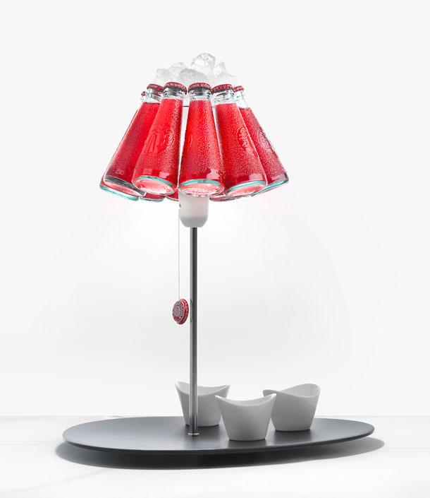 Campari Bar Table Lamp   Raffaele Celentano x Ingo Maurer   Ganzo .