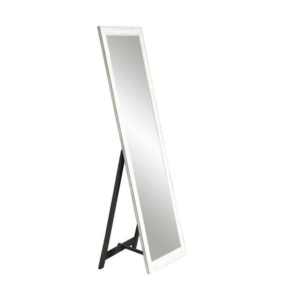 Shop Full Length Distressed Freestanding Mirror - Overstock - 283877