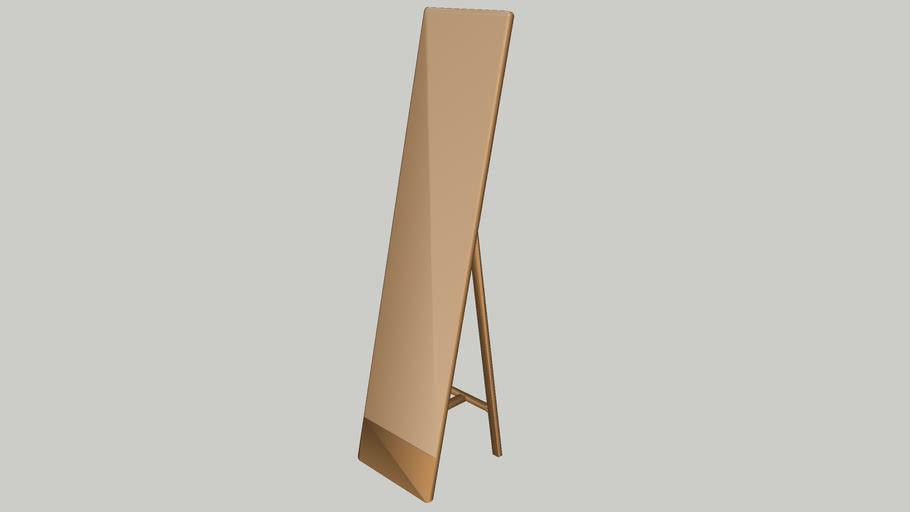 Swedese Mira Freestanding Mirror | 3D Warehou
