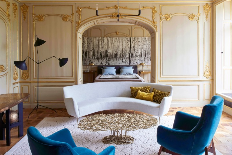A 16th Century Chateau Transformed Into A Contemporary Luxury Ho
