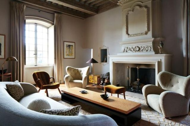 Chic French Chateau With Original Features And Modern Furniture .