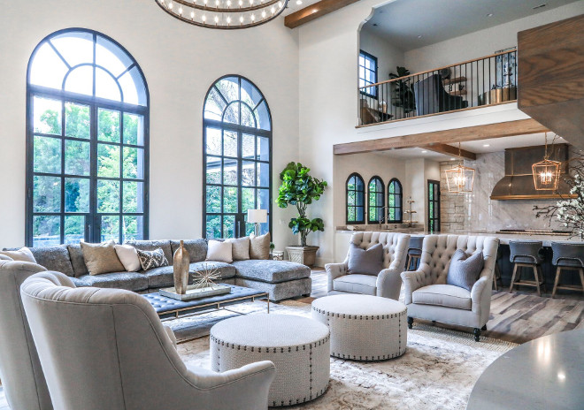 Modern French Chateau Style Custom Home Design - Home Bunch .