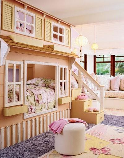 25 Fun And Cute Kids Room Decorating Ideas - DigsDi