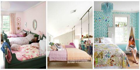 12 Fun Girl's Bedroom Decor Ideas - Cute Room Decorating for Gir