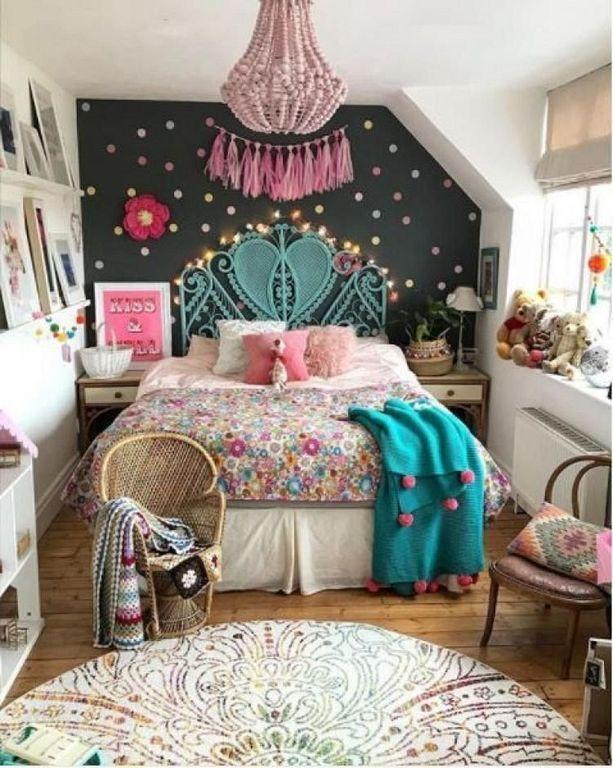 30+ Fun And Cute Boho Bedroom Design Ideas For Kids | Pretty .