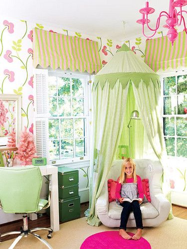 25 Fun And Cute Kids Room Decorating Ideas | Девчачьи комнаты .