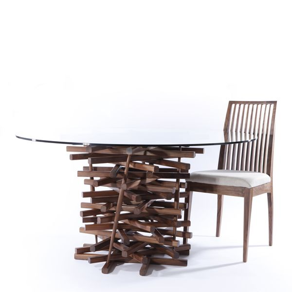 Nest Dining Table by MacMaster, via Behance | Dining table, Living .