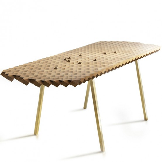 wooden dining table Archives - DigsDi