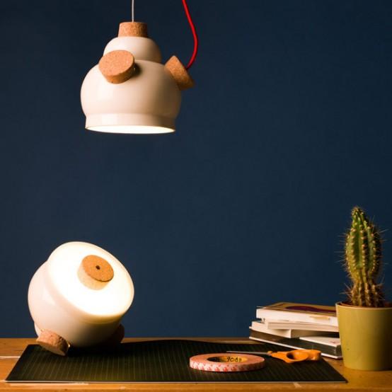 Fun Winnie Pendant Lamp To Make You Feel Positive - DigsDi