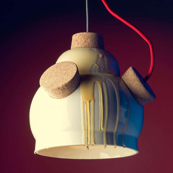 Beehive-Inpsired Lamps : beehive La