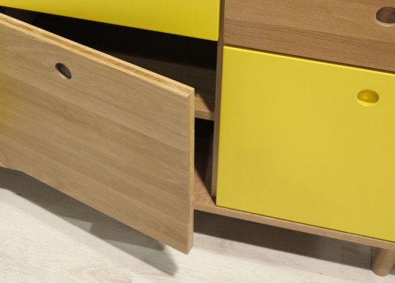 Functional And Versatile Pandora Sideboard In Vibrant Colors .