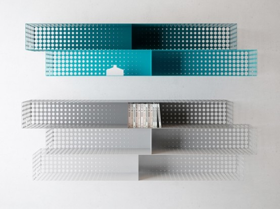Functional And Very Creative In The Fog Shelving - DigsDi