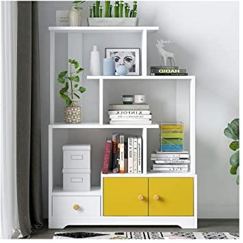 Amazon.com: FABAX Bookshelf Simple Bookshelf Living Room Modern .