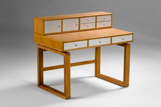 contemporary wooden desks Archives - DigsDi