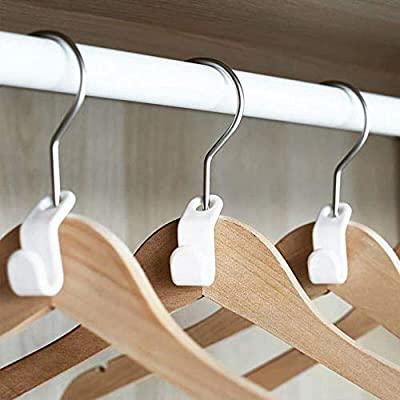 Hanging Home Hanger Hook Plastic Saving Space Multi Function Coat .
