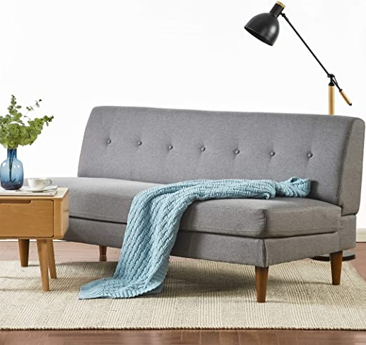 Amazon.com: Mellow METTE Modern Armless Loveseat/Sofa/Couch .