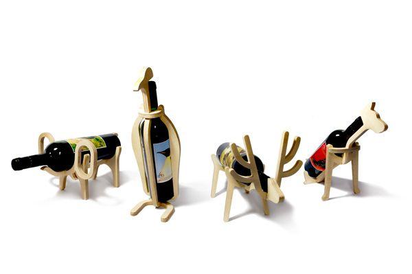 Conte Bleu Animal Wine Bottle Racks   Wine rack, Animal wine .